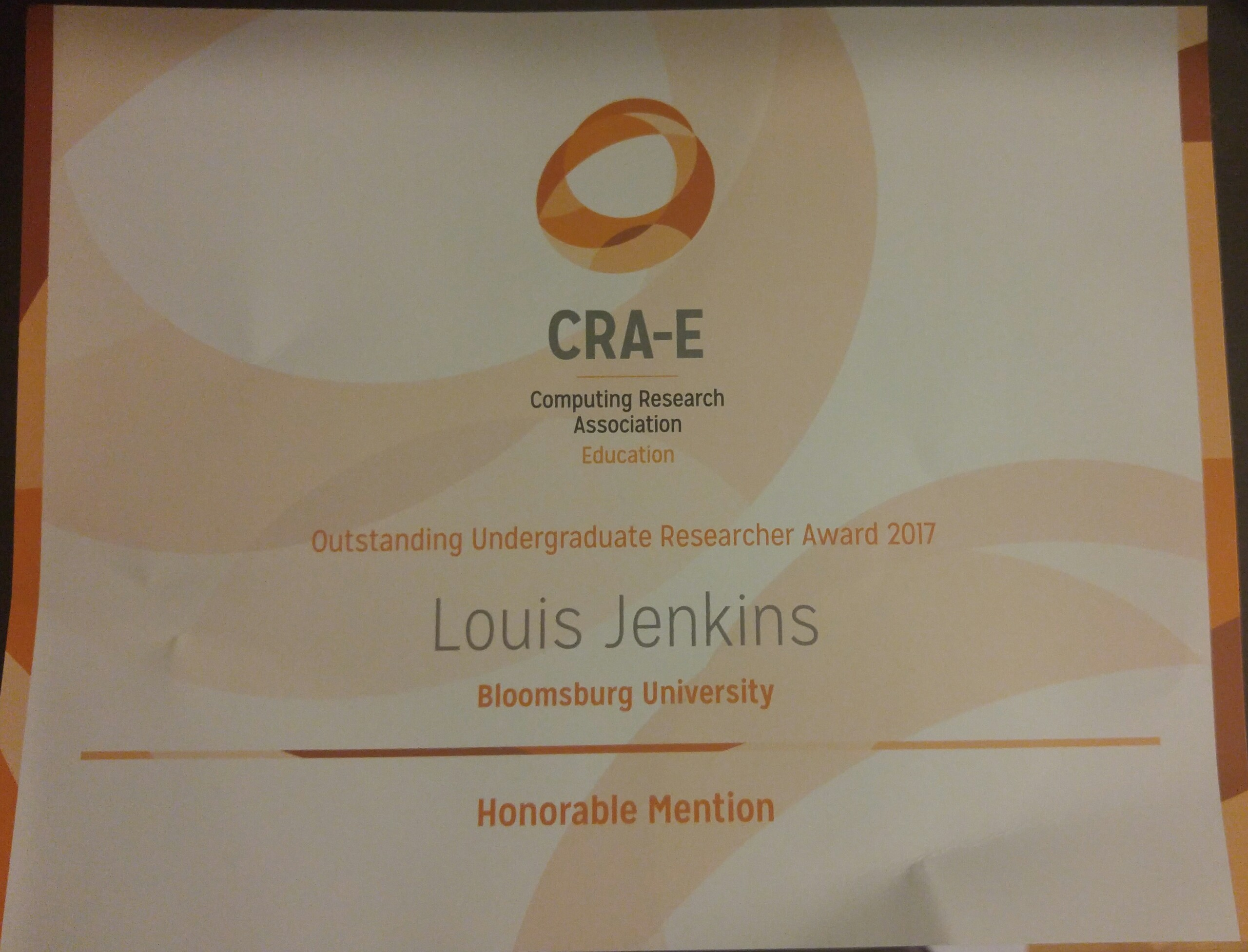 CRA's Award